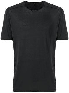 однотонная футболка  Transit
