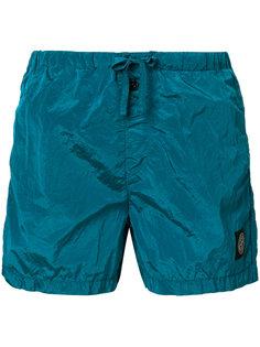 шорты для плавания с нашивкой логотипа Stone Island