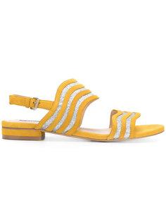 wave stripe sandals Steffen Schraut