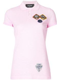 рубашка-поло с нашивкой Dsquared2