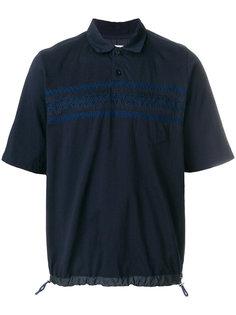рубашка-поло с вышивкой Sacai