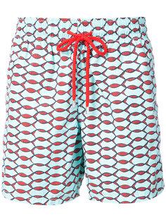 шорты для плавания Moorea Fishnet Vilebrequin