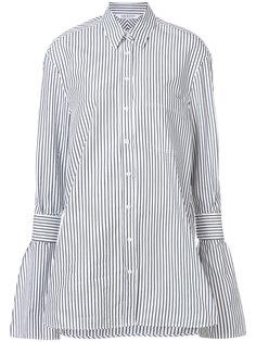 полосатая рубашка-туника Neil Barrett