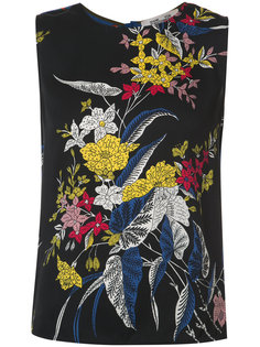топ с цветочным рисунком Camden Dvf Diane Von Furstenberg