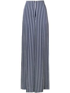 широкие полосатые брюки Dvf Diane Von Furstenberg