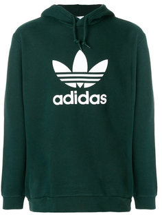 толстовка Adidas Originals Trefoil Warm Up с капюшоном Adidas