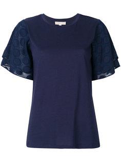 футболка в горох  Michael Michael Kors