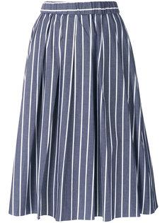 юбка миди в полоску  Michael Michael Kors