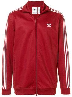 zipped track jacket Adidas