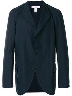 легкий пиджак с заостренными лацканами Comme Des Garçons Shirt Boys