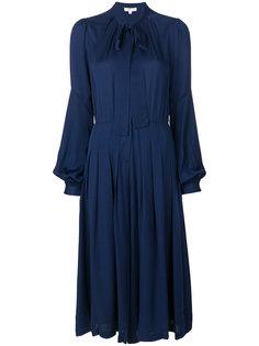 платье-рубашка с завязкой на вороте  Michael Michael Kors