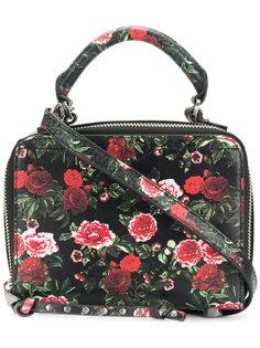 маленькая сумка-тоут с цветочным принтом Rebecca Minkoff