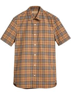 классическая футболка в клетку  Burberry