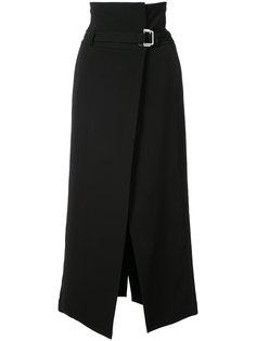 юбка длины миди с запахом Robert Rodriguez
