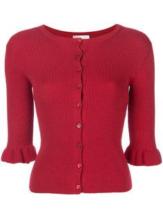 кардиган в рубчик Red Valentino