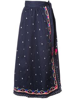 вышитая юбка Temperley London