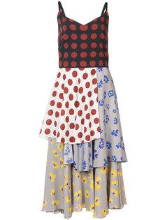 платье в стиле пэчворк Novis