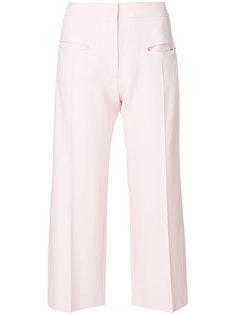 широкие укороченные брюки Carven