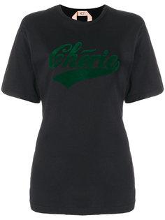 футболка Cherie в стиле оверсайз Nº21