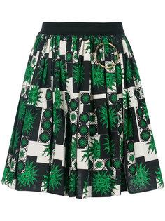 юбка мини с принтом Fausto Puglisi
