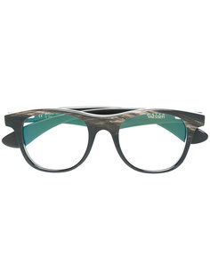 Lucas square glasses Ralph Vaessen
