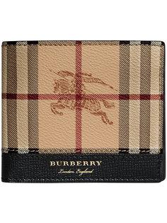Haymarket Check International bi-fold wallet Burberry