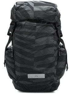 uneven stripe bucket backpack Adidas By Stella Mccartney