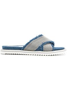 джинсовые сандалии Steffen Schraut