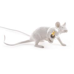 """Настольная лампа """"Mouse Lamp Lie Down"""" Seletti"""