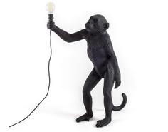 """Настольная лампа """"The Monkey Lamp Black Standing"""" Seletti"""