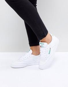 Белые кроссовки Reebok Club C 85 - Белый