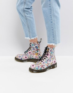 Ботинки с цветочным принтом Dr Martens Pascal - Мульти