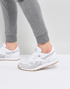 Белые классические кроссовки Reebok BS9718 - Белый