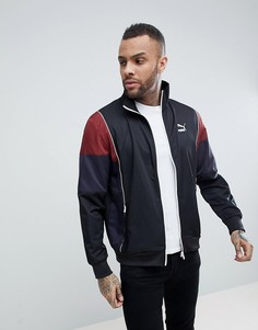 Спортивная куртка в винтажном стиле Puma - Черный