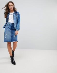 Джинсовая юбка Pepe Jeans - Синий