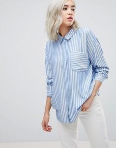 Рубашка oversize в полоску Only - Мульти