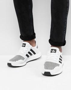 Белые кроссовки adidas Originals Swift Run CQ2116 - Серый