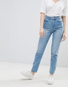 Джинсы в винтажном стиле с завышенной талией Waven Elsa - Синий