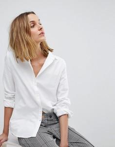 Оксфордская рубашка Pieces - Белый