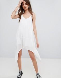 Платье-комбинация Noisy May Evelyn - Белый