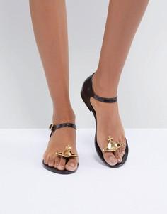 Черные сандалии Vivienne Westwood for Melissa - Черный