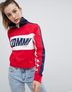 Рубашка Tommy Jeans Racing - Красный