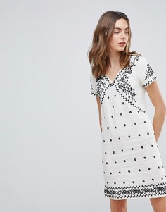 Платье с вышивкой Deby Debo Billy - Белый
