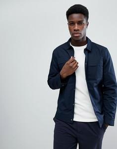 Куртка с карманами на груди Selected Homme - Темно-синий