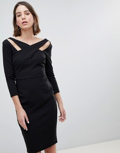 Платье миди City Goddess - Черный