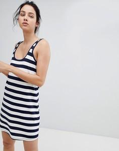 Платье-майка мини в полоску ASOS DESIGN - Мульти