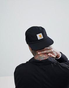 Черная 5-панельная кепка Carhartt WIP Backley - Черный