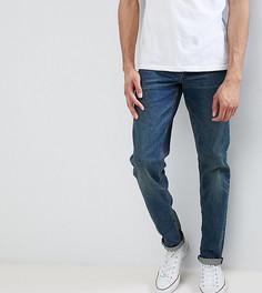 Темные джинсы слим в винтажном стиле ASOS TALL - Синий