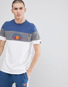 Белая футболка колор блок ellesse - Белый