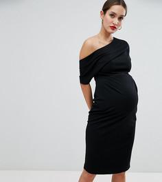 Платье-футляр ASOS DESIGN Maternity - Черный